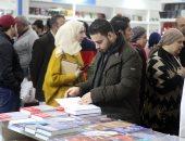 إقبال كثيف على معرض القاهرة الدولى للكتاب فى يومه الـ11