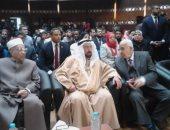 حاكم الشارقة يزور مركز الشيخ زايد.. واستقبال حافل من قيادات الأزهر