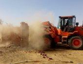 استرداد 2180 فدان أراضى أملاك الدولة بالواحات البحرية فى الجيزة
