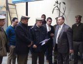 مدير أمن المنوفية يتفقد الخدمات الأمنية بمدينة شبين الكوم