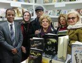 """سها سعيد توقع كتابها """"نجوم ماسبيرو يتحدثون"""" فى معرض الكتاب"""