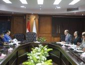 وزارة الرياضة تناقش استعدادات الترايثلون لطوكيو 2020