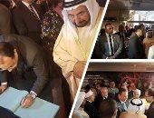 حاكم الشارقة يعد بدعم تطوير منطقة سور الأزبكية والهيئة العامة لقصور الثقافة