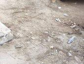 قارئة تشكو تكسير الرصيف بشارع محمد كامل مرسى فى المهندسين