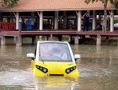"""""""ذا فوم وان"""".. تعرف على سيارة صنعت خصيصًا لمواجهة كوارث تسونامى"""
