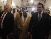 """وزير التعليم العالى لحاكم الشارقة: """"اللى بنحس بحبه لبلدنا نحطه جوه قلوبنا"""""""