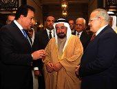 حاكم الشارقة يزور جامعة القاهرة