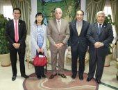 محافظ جنوب سيناء يبحث الترويج السياحى مع اتحاد الشركات اليابانية