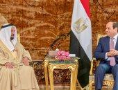 الرئيس السيسى يستقبل الشيخ سلطان بن محمد القاسمى حاكم الشارقة