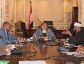 صور.. اللجنة الدينية بالبرلمان تناقش سياسة اختيار خطباء المساجد