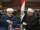 مفتى الجمهورية يستقبل شيخ الإسلام لمنطقة القوقاز ويبحث معه تعزيز التعاون