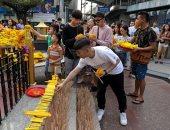 """صور.. دول آسيوية تحتفل ببداية عام """"الخنزير"""" طبقا للتقويم الصينى"""