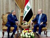 رئيس العراق يتلقى دعوة من الرئيس السيسى للمشاركة بالقمة العربية الأوروبية