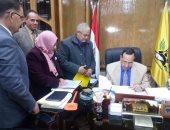 محافظ شمال سيناء يعتمد نتيجة الشهادة الإعدادية بنسبة نجاح 82.85٪