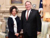 لقاء وزير الخارجية الأمريكى بناشطة إيرانية معارضة يثير غضب مسئولى طهران
