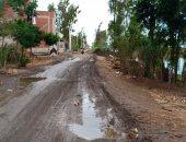 سقوط أمطار غزيرة على دمياط وانتظام حركة الصيد والملاحة