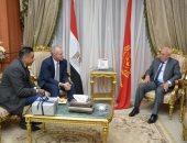 صور.. سفير الدنمارك يشيد بالعلاقات الثنائية ويؤكد أهمية بورسعيد فى التنمية بمصر