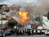 انفجار حافلة ركاب وسط العاصمة السويدية وإصابة سائقها