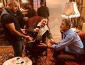 """صور..إدوارد يبدأ تصوير """"حكايتى"""" مع أحمد بدير وجمال عبد الناصر"""