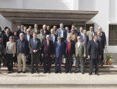 """صور.. """"مميش"""" يستقبل سفراء الاتحاد الأوروبى لعرض مخططات التنمية بمنطقة القناة"""