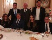 صور.. السفير اللبنانى بأوكرانيا يكرم كارول سماحة