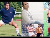"""قصة صور..  فنانون يرفعون شعار """" شحاتة أبو كف """" مع كرة القدم"""