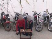 إحالة عاطل لمحكمة الجنح بتهمة سرقة 33 دراجة نارية فى الأزبكية
