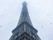 """""""باريس وجمالها"""".. كيف تبدو فرنسا من فوق برج إيفل بعد سقوط الثلوج × 15صورة"""