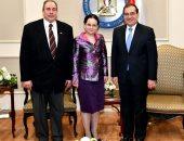 وزير البترول يبحث مع نائب خارجية روميانيا التعاون الاقتصادى
