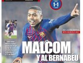 تعادل برشلونة وريال مدريد فى عيون الصحافة الإسبانية.. صور