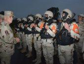 الفريق محمد فريد يتفقد عناصر تأمين قناة السويس ويلتقى أبطال الجيش الثانى
