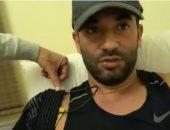 """عمرو سعد يتعرض لإصابة فى الكتف خلال تدريبه على """"حملة فرعون"""".. فيديو"""