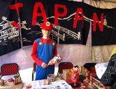 "صور.. سفير اليابان يرتدى ملابس سوبر ماريو فى مهرجان ""أنيميشن"""