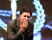 إيمان البحر درويش يشعل حفل افتتاح مهرجان المركز الكاثوليكى بالأغانى الوطنية