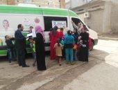 محافظ دمياط: الكشف على 2400 مواطن فى قافلة طبية بالمحمدية