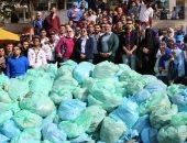 وزيرة البيئة: الشباب رفعوا أكثر من 3 أطنان مخلفات خلال 3 ساعات