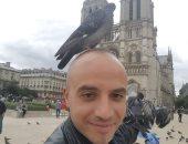 """أكتر حاجة وحشانى فى مصر.. قارئ يشارك بصورة من باريس: """"حضن أمى"""""""
