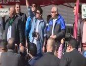فيديو.. وزير الشباب ومحافظ الجيزة يشاركان بماراثون طلابى