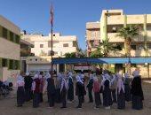فيديو وصور.. انتظام الدراسة يعيد أجواء الحياة الآمنة لشوارع مدينة العريش