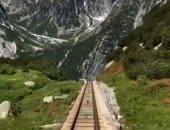 يمر بجبال سويسرا.. تعرف على القطار ذى المسار الأكثر انحدرا فى العالم