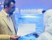 افتتاح وحدة العزل بقسم الاطفال المبتسرين بمستشفى العريش