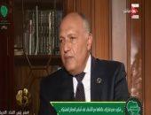 سامح شكرى: دور تركيا فى ليبيا مقلق.. ولدينا القدرة على الدفاع عن مصالحنا