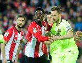 أتليتك بيلباو ضد برشلونة.. شتيجن ينقذ البارسا فى الشوط الأول