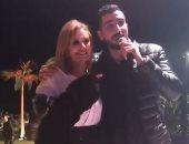 """فيديو وصور.. يسرا ومحمد الشرنوبى يرقصان على أغنية """"النفسية"""""""