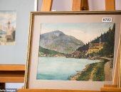 سحب لوحات منسوبة لهتلر قبل بيعها من دار مزادات.. اعرف السبب؟