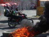 يوم جديد من الاحتجاجات العنيفة ضد السلطة فى هايتى بسبب الفساد