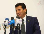 وزير الشباب: الرياضة المصرية ليست كرة قدم فقط.. وكأس العالم للسلاح بداية