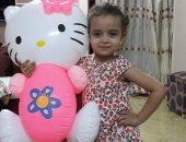 """قارئ يناشد وزير الصحة لعلاج ابنته """"رودينا"""".. تحتاج لعملية قلب مفتوح نادرة"""