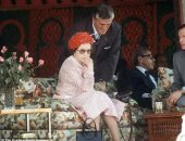 من 40 سنة.. الملكة إليزابيث تخالف القواعد فى زيارتها للمغرب.. صور