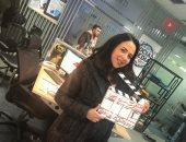 "صور.. إيمى سمير غانم تبدأ تصوير مسلسل ""سوبر ميرو"""